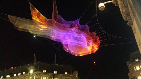 Janet Echelman London installation