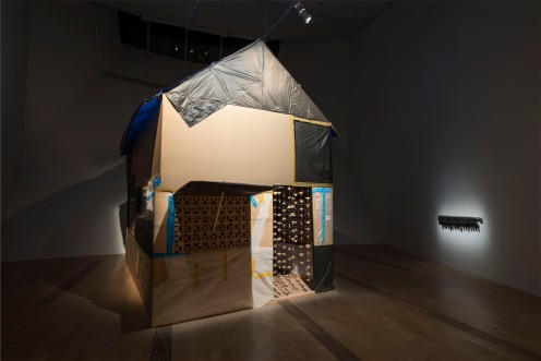 Prudential Eye Awards Exhibition, WARNING HOUSE by Sareth Svay