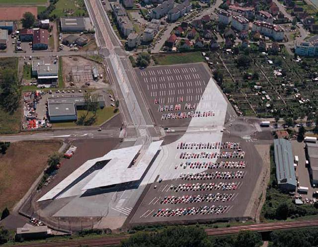 Carpark in France