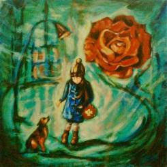 Ong Hwee Yen_Untitled 1_2015_Acrylic on Canvas_76x76cm