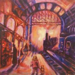 Ong Hwee Yen_Untitled 3_2015_Acrylic on Canvas_76x76cm