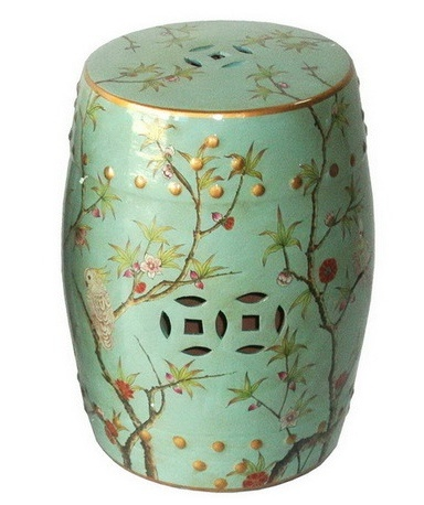 Green-Glazed-Porcelain-Stool